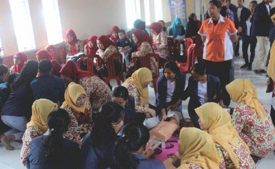Seminar & Pelatihan Bantuan Hidup Dasar bagi Masyarakat Desa di Sekitar UNAI