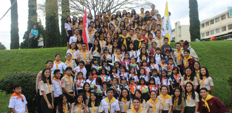 "Pelantikan Trinity Adventurer Club UNAI dan Crusader Pathfinder Club ""Rise and Shine!"""