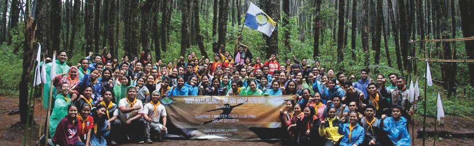 Camping 1 Calon Master Guide dan Master Guide UNAI 2017