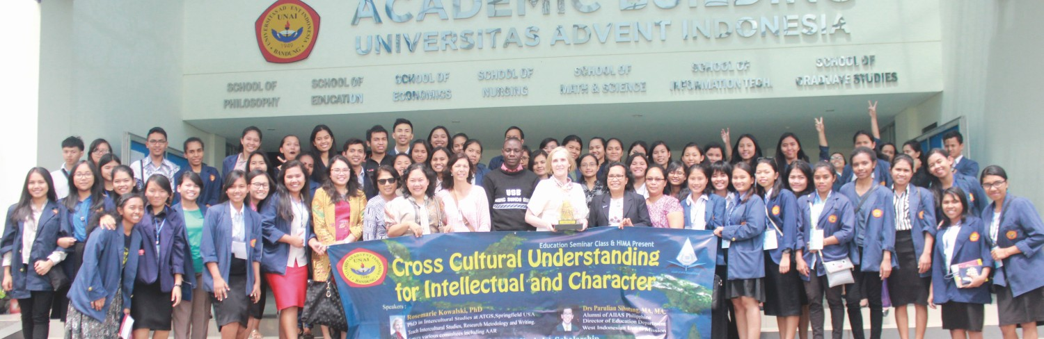 Cross Cultural Understanding for Intellectual and Character  Universitas Advent Indonesia