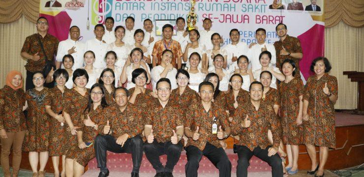 Lomba Paduan Suara Antar Instansi Rumah Sakit dan Pendidikan se-Jawa Barat