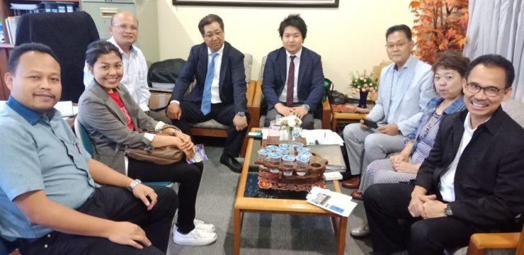 Kunjungan Welfare Corporation Jepang di Kampus UNAI