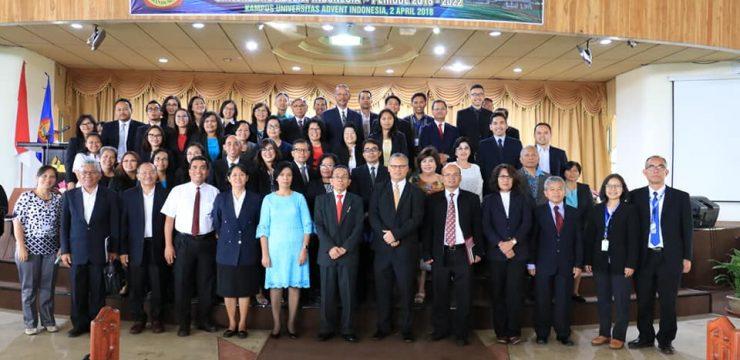 Serah Terima dan Pelantikan Pejabat UNAI Periode 2018-2022