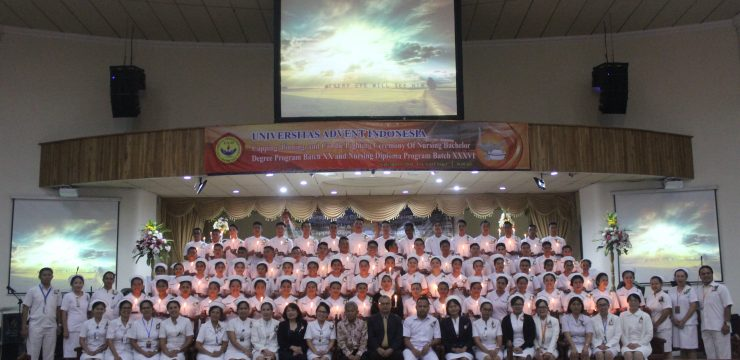 Nurse Capping Day at Adventist University of Indonesia