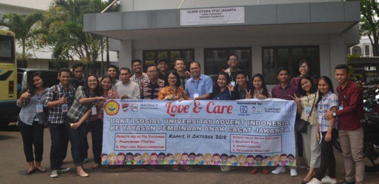 Bakti Sosial UNAI ke Yayasan Pembinaan Anak Cacat (YPAC) Jakarta