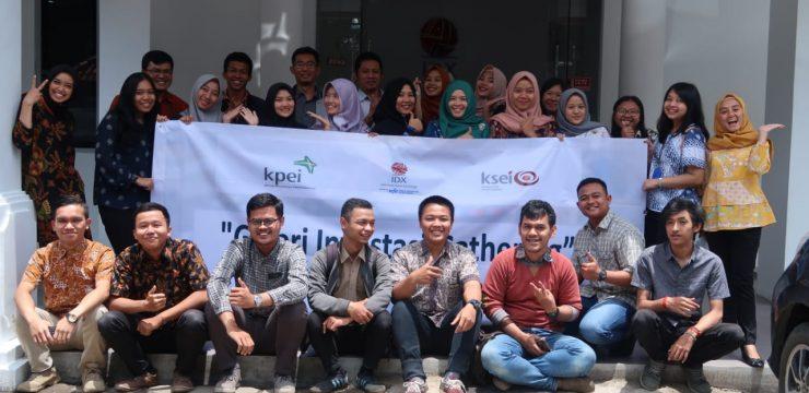 Galeri Investasi UNAI mengikuti Galeri Investasi Gathering 2018/2019
