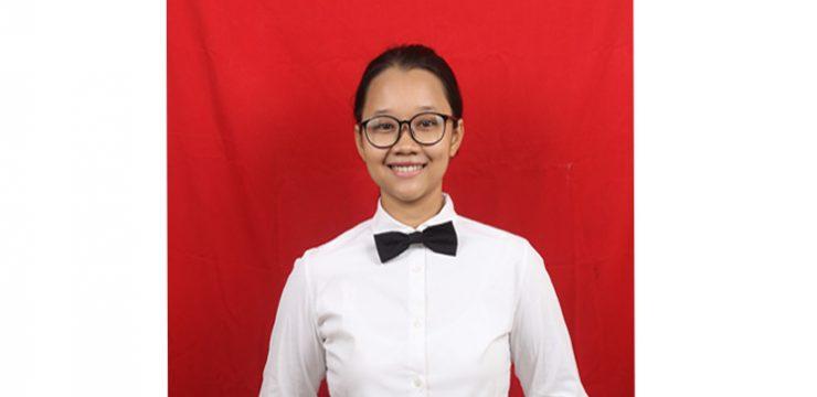 The Outstanding Student Semester Ganjil 2018/2019 -Grace Abigail Hutajulu