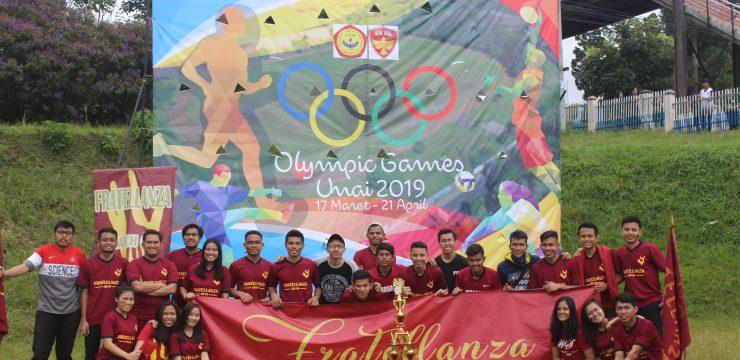 Pembukaan Olympic Games Semester Genap 2018/2019