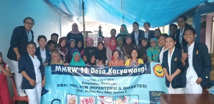 Penyuluhan Kesehatan Profesi Ners Semester Genap 2018/2019