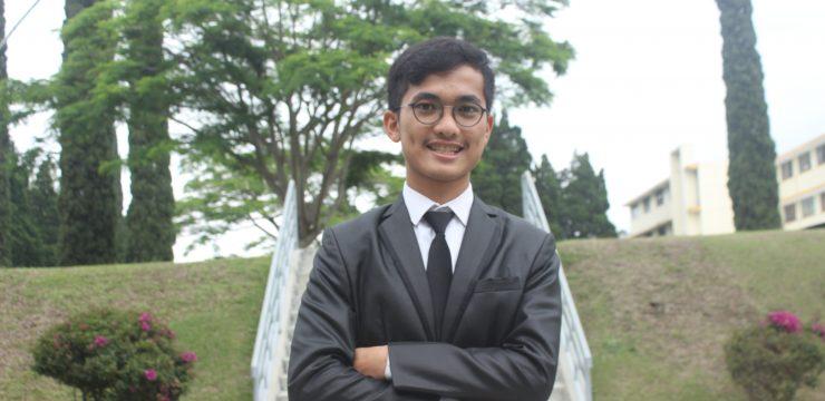 The Outstanding Student Semester Ganjil 2018/2019 – Maximilian Parhusip