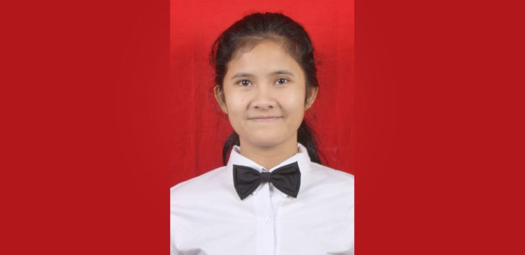 The Outstanding Student Semester Genap 2018/2019 – Erna Adelia May Simbolon