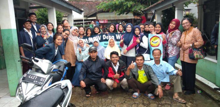 Musyawarah Masyarakat Desa Profesi Ners Section B di Desa Wangunsari, Lembang
