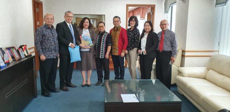 Pertemuan Pimpinan UNAI  Dengan Kementerian Pelajaran dan Inovasi, Sabah, Malaysia.