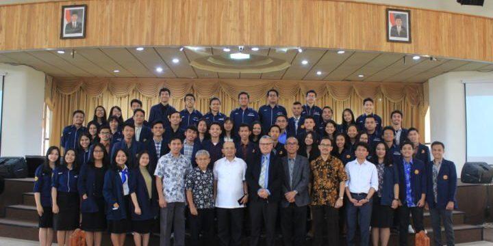 Pelantikan Pengurus Badan Eksekutif Mahasiswa Universitas Advent Indonesia Tahun 2019/2020