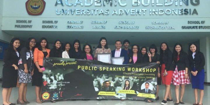 Seminar dan Workshop Public Speaking 2019 oleh Fakultas Keguruan dan Ilmu Pendidikan
