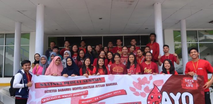 Aksi Donor Darah Universitas Advent Indonesia Semester Ganjil 2019/2020