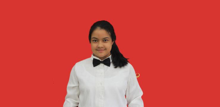 The Outstanding Student Semester Ganjil 2019/2020 – Abigail Dwi Pangestu Setiadi