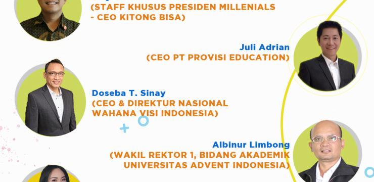 Webinar Nasional Indonesia Bangkit Seri 1 – Pendidikan dalam New Normal