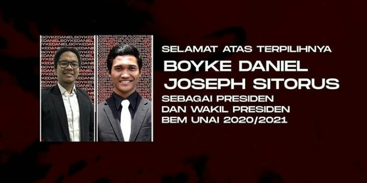 Pemilihan Pengurus Badan Eksekutif Mahasiswa Universitas Advent Indonesia Masa Bakti 2020-2021