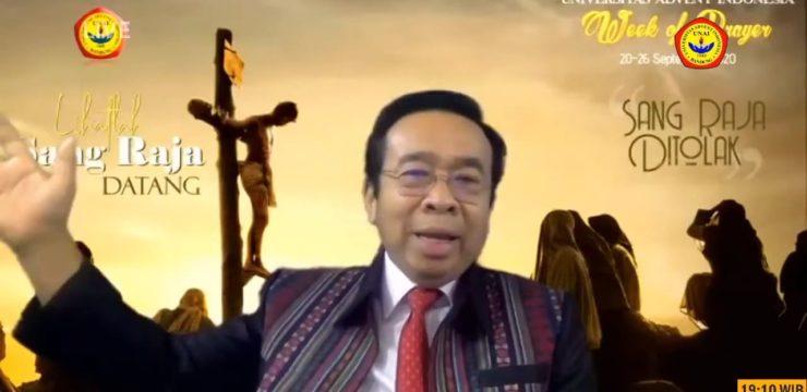 """Week of Prayer Universitas Advent Indonesia """"Lihatlah Sang  Raja Datang"""""""