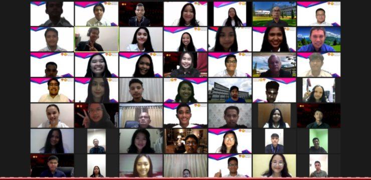 Pelantikan Badan Eksekutif Mahasiswa Universitas Advent Indonesia Masa Bakti 2020-2021