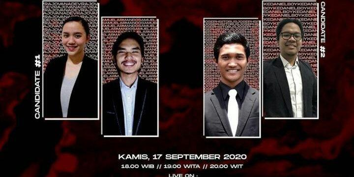 """Debat Calon Ketua BEM Universitas Advent Indonesia 2020/2021 """"Hand in Hand We Can Do Great Things"""""""