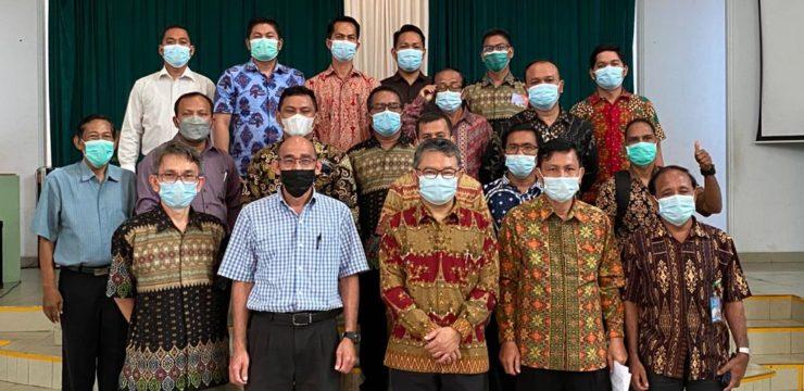 Pertemuan Dekan Filsafat UNAI dan Officer Konferens Daerah Sumatera Kawasan Selatan